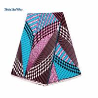 100% Cotton Fabric Veritable Dutch Ankara Fabric Real Hollandais Wax Prints African Fabric For Women Dress 24fs1182