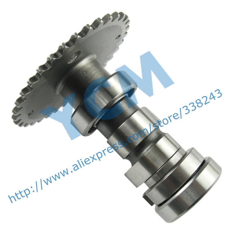 Camshaft GY6 125 150cc Standard 25.7mm Cam Shaft Scooter Engine Parts 152MI 157QMJ Mope Wholesale YCM Drop Shipping