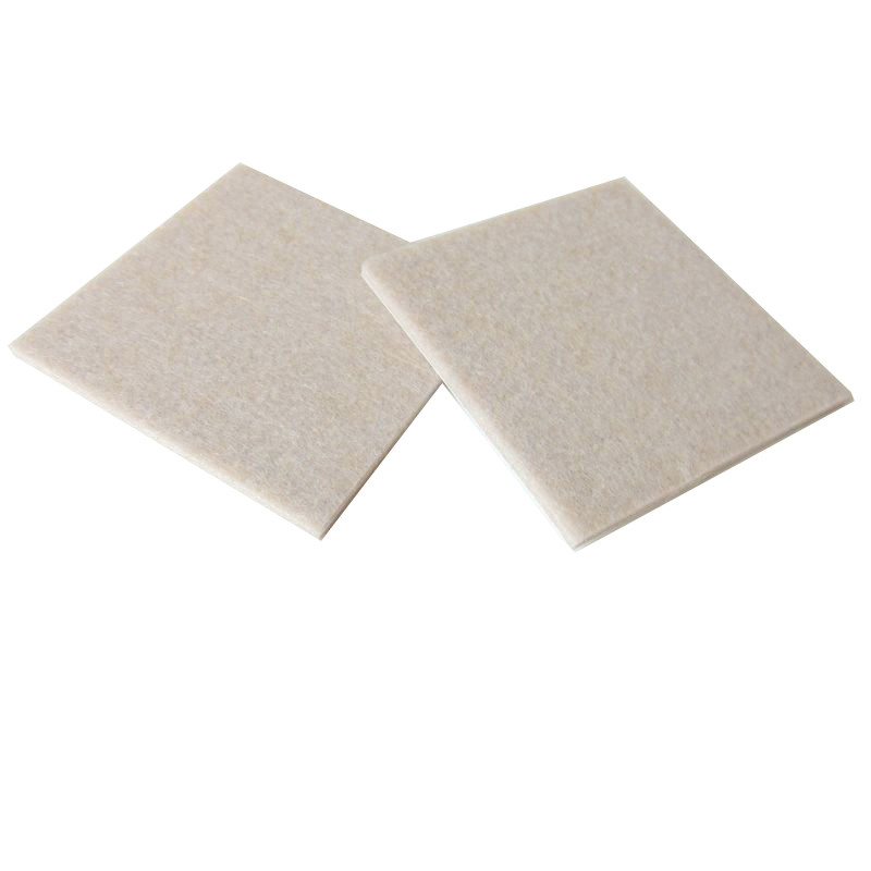 2 pcs 85mm Square Felt Pads Table Chair Sofa Furniture Legs Appliance Cushion Gasket Floor Abrasion Protector Guards 2 pieces 85mm square cushion felt pads for table chair sofa leg felt desk pad protector felt furniture pads abrasion