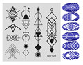 1 PC Nail Art Stamping Image Plates Stainless Steel geometric Patterns Nail Stamping Plates DIY Stamping Template