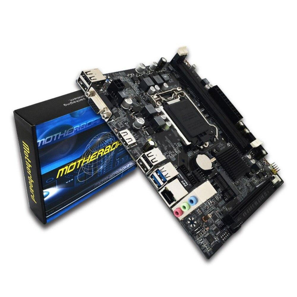 H110 Desktop PC Board Motherboard LGA1151 Support 16