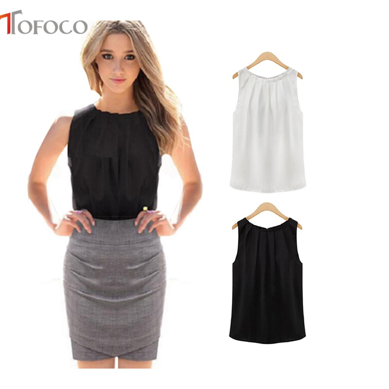 MEETCUTE Elegant New Chiffon Tank Tops for Pregnant Women Fashion Simple Design Sleeveless Shirts Maternity Cloth