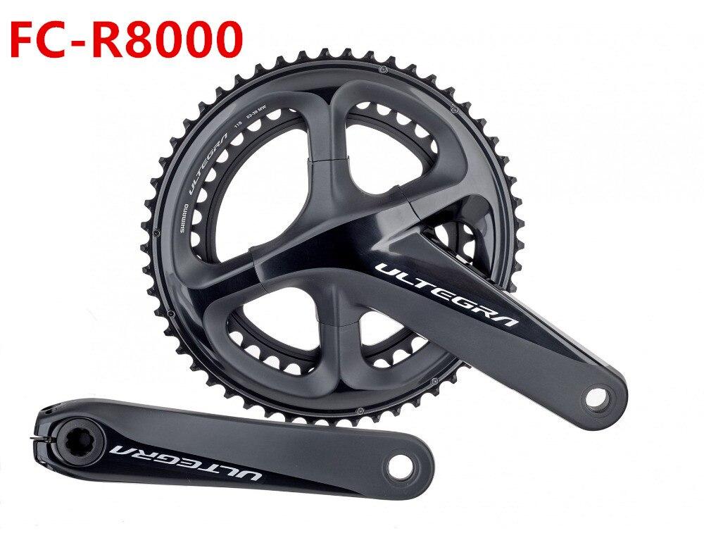 shimano ultegra FC R8000 2*11s ROAD crankset R8000 HOLLOWTECH II CRANKSET 165 170 175mm chain wheel