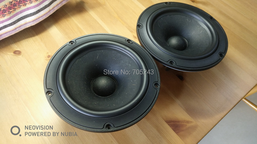 ᗑ pair Melo david audio Vifa NE180W-08 6 5 midbass woofer