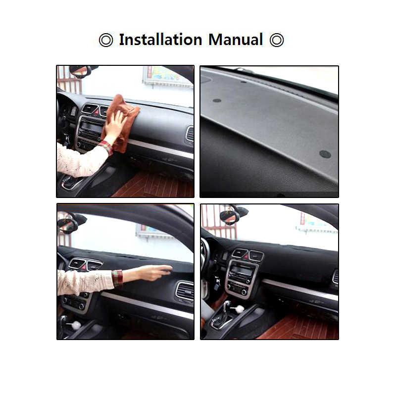 Xukey Fit For Land Rover Discovery 3 2006-2009 Range Rover Sport Dashboard  Cover Dashmat Dash Mat Pad Sun Shade Dash Board Cover