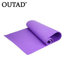 OUTAD New Arrival Exercise Mat 6mm Thick Non-Slip Yoga Fitness Lose Weight 68x24x0.24inch