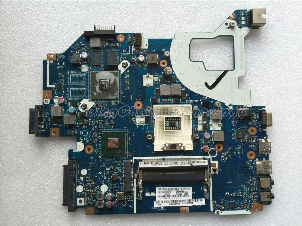Ordinateur portable Carte Mère Pour Acer E1-571 Q5WV1 LA-7912P REV 2.0 NBM6B11001 NB. M6B11.001 HM77 DDR3 GT710M 2 GB carte graphique