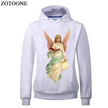 ZOTOONE Angel Patch Iron On Transfer A-level Washable Patches For Kids Clothes DIY Appliqued embroidery Heat Press Wings