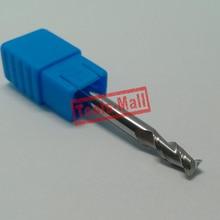 1 шт. 5 мм D5* 13* D5* 50 HRC50 2 флейты фрезы для Алюминий CNC инструменты твердосплавные ЧПУ плоским фрезы Фрезы
