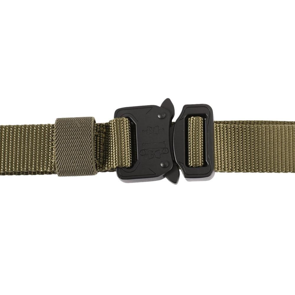 ENNIU 2018 Hot Mens Tactical Belt Military Nylon Belts Durable Multifunctional Army Combat Training Male