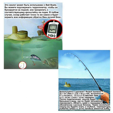 Pisfun FFW718 Fish Finder 40 Meters/131 Feet Sonar Depth Finder Sounder Alarm Carp Fishing Ocean River Lake