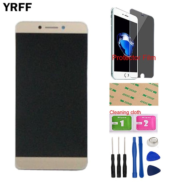 Mobile LCD Display Assembly Screen LCD Matrix Screen Display For LEAGOO T8S T8 S LCD Display + Touch Screen Tools Protector Film