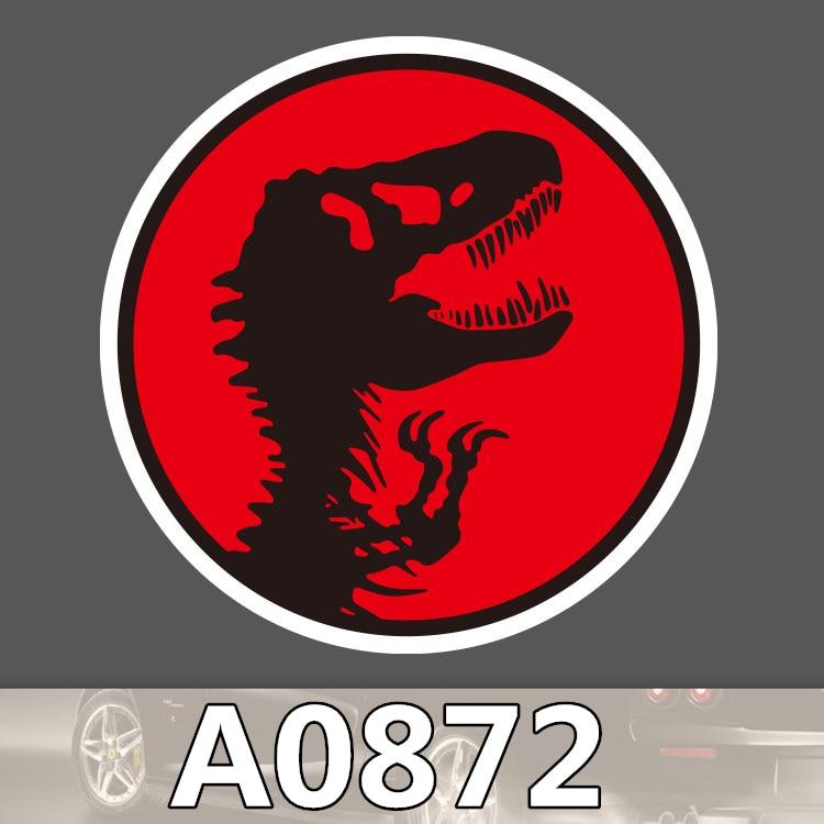 Bevle A0872 Jurassic Park Waterproof Sticker Notebook Phone Laptop Cartoon Decal Fridge Car Graffiti Sticker