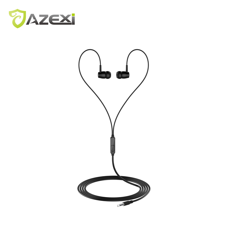 L29 Heavy Bass Earphones In-ear Headset Standard 3.5mm Suitable for Audio Equipment TPE Stand Pulling Line High definition MIC
