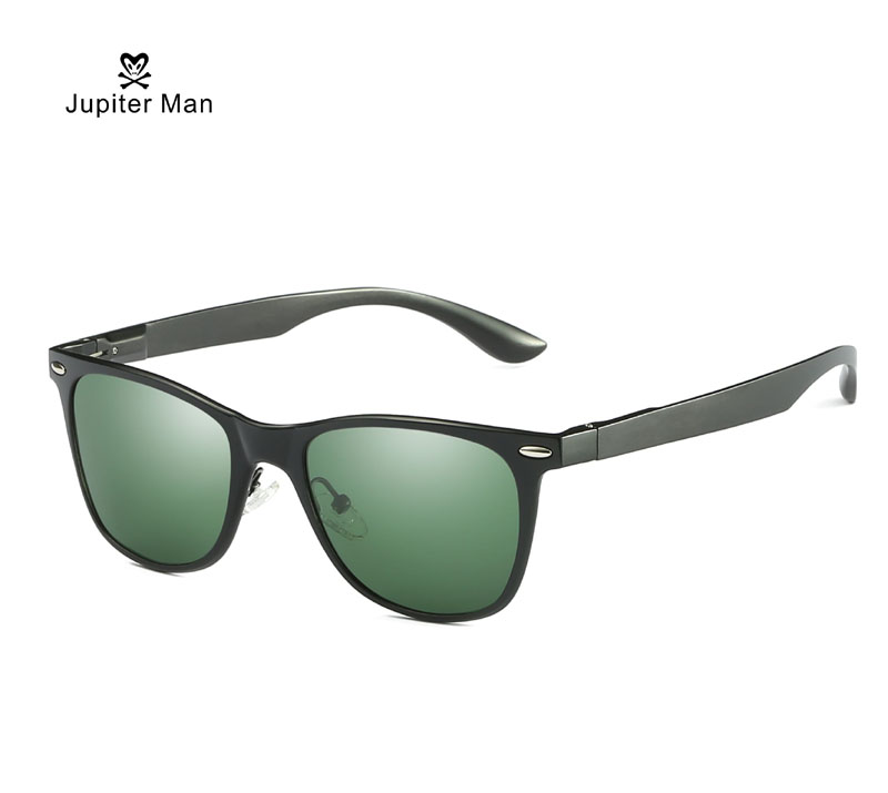 Jupiter sunglasses men polarized Aluminum Magnesium Brand Men's Sunglasses Driver sunglasses UV400 Sun Glasses For Men   2140