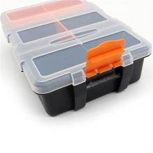 hot deal buy tool box f-156 portable plastic tool parts storage box suitcase electrician tool box suitcase case holder for storage tools