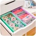 1 шт. Красочные лук мульти сетки чулки нижнее белье ящик для хранения, небольшой ящик отделки мусор коробка K4221