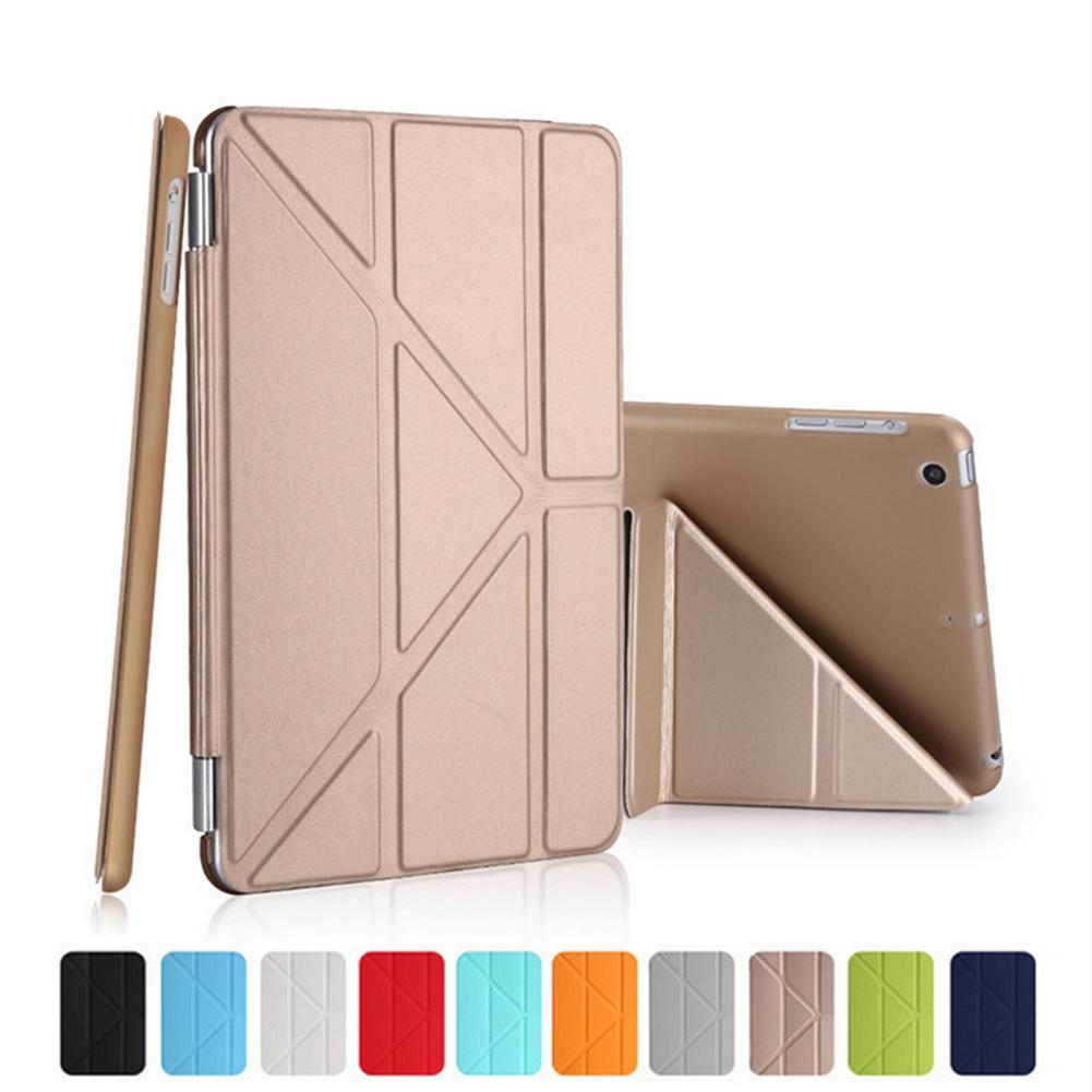 9.7 Inch Mini Smart Cover for Ipad 2/3/4 for Ipad air Tablets Case Flexible Soft TPU Silicone Back Cover PU Leather Case+ Stylus for ipad mini silicone case soft tpu back case bottom case cover for 7 9inch apple ipad mini 1 2 3 4 tablet case for mini ipad