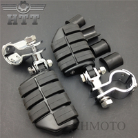 Aftermarket Free Shipping Motorcycle Parts New Kuryakyn Dually Highway Pegs Clamps For Harle DAVIDSON 1 1