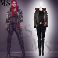 cosplay high quality Cyberpunk Cosplay Costume Cyberpunk Jacket women Cosplay Full Set