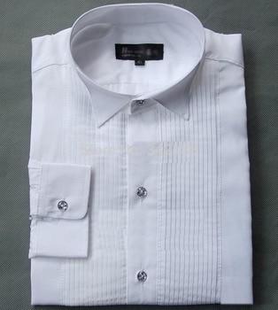 Crystal Buttons Men Wedding Shirt Groom Shirts White Colors Bridegroom Shirt 7 Sizes H576wedding men clothes