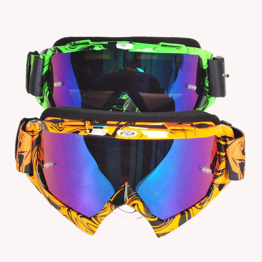 Sp  Brand Motocross Goggles ATV DH MTB Dirt Bike Glasses Oculos Antiparras Gafas Motocross Sunglasses Use For Motorcycle Helmet