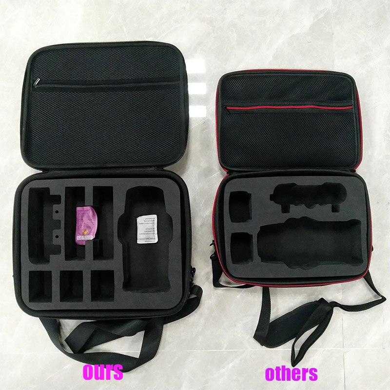 Mavic 2 sac de rangement housse de transport pour DJI Mavic 2 Pro/Mavic 2 Zoom sac à bandoulière contrôleur 4 piles sac à main de la plus haute qualité-in Kits d'accessoires pour drones from Electronique    2