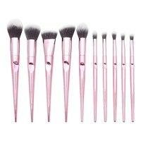 New Fashion 10PCS Makeup Brushes Set Eyeshadow Foundation Eyeliner Eyebrow Lip Contour Beauty Blending Cosmetic Brush Maquiagem Eye Shadow Applicator