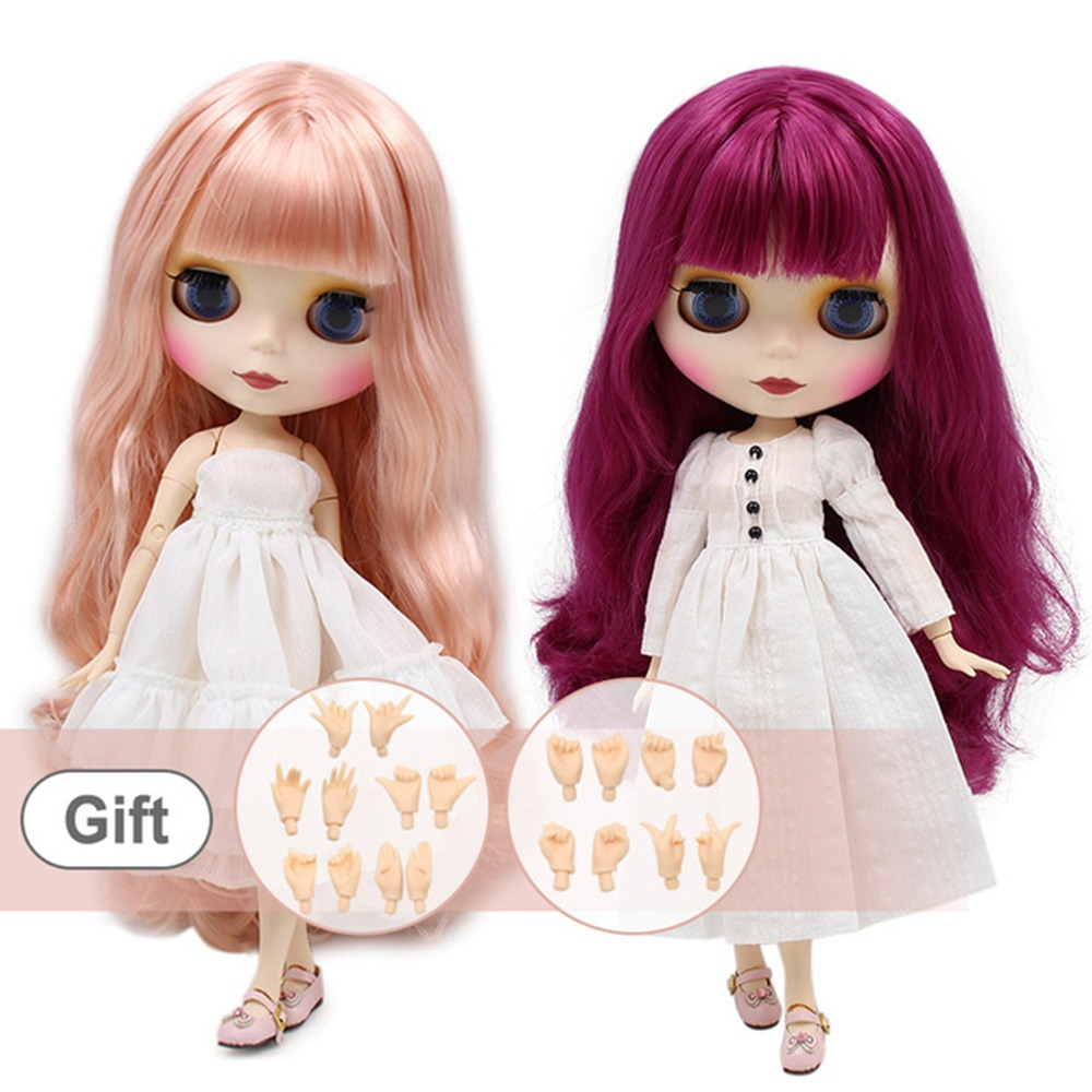 122 Doll Limited Gift Special Price Cheap Offer Toy At All Costs Toys & Hobbies Free Shipping Top Discount 4 Colors Big Eyes Diy Nude Blyth Doll Item No