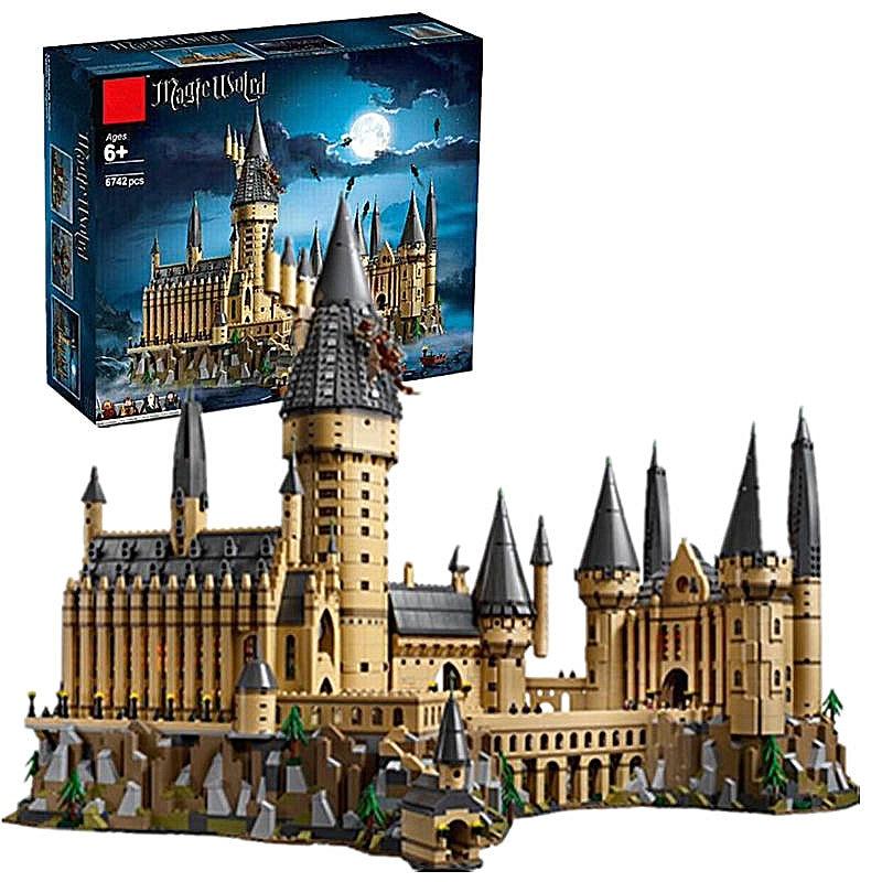 Industrial Light And Magic Harry Potter: New Building Blocks Bricks Harry Magic Potter Hogwarts