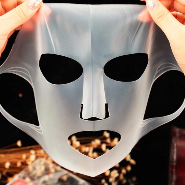 Nouvelle Arrivée Silicone Visage masque Couverture Prévenir Masque Essence L'évaporation Le Rythme D'absorption Hydratant Visage Masque Couverture 4