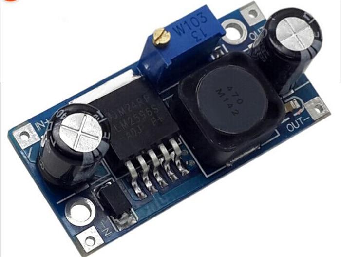 5pcsLM2596S LM2596 LM2596 ADJ DC DC Step down module 5V 12V 24V adjustable Voltage regulator 3A