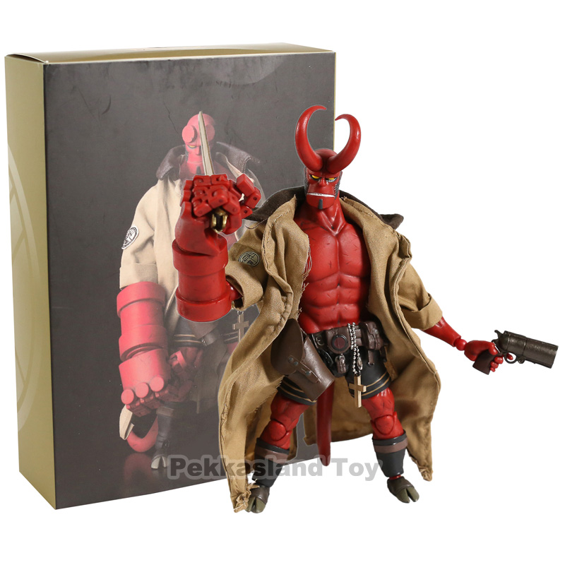 Dark Horse Comics Hellboy Movie Figurine 1/2 Scale Figure Hellboy 1000 Toys Action Figure Collectible Model Toy image