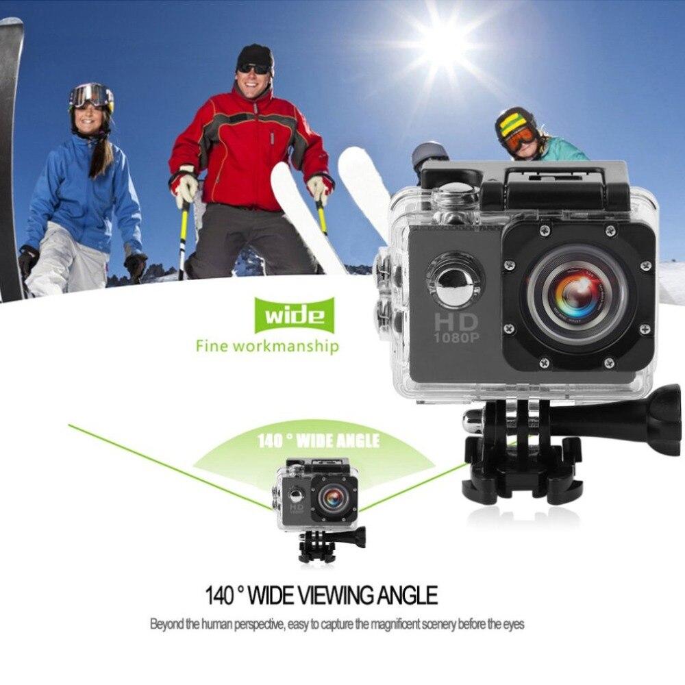 Мини Открытый Спорт Камера Водонепроницаемый 30 М Полный HD720P действие Камера Спорт Камера с 1,5/2,0 дюймов Экран SJ4000