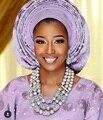 Fabulous Moda Africano Conjuntos de Jóias De Noiva Indiana Beads Mulheres Jóias de Prata Set 2017 Presente de Natal Frete Grátis WD860