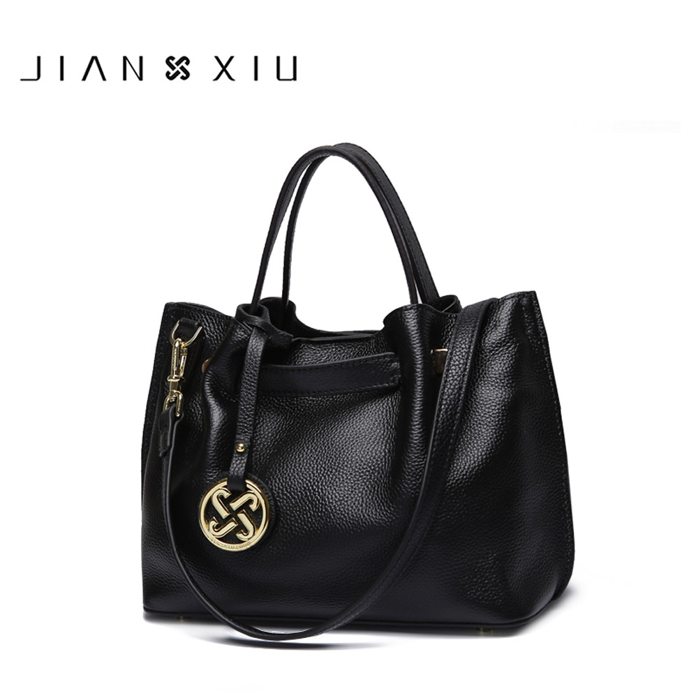 Genuine Leather Bag Luxury Handbags Women Bags Designer Handbag Bolsa Sac a Main Bolsos Mujer Bolsas Feminina 2017 Tassen Tote jianxiu luxury handbags women bags designer pu handbag bolsa feminina vintage shoulder messenger bag belt tote sac a main tassen