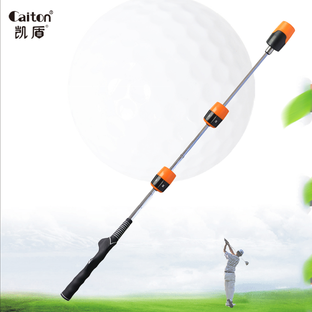 Caiton Golf Swing Trainer Golf Training Aids Beginners' Vocal Golf Training Exercises Golf Swing Practice Stick