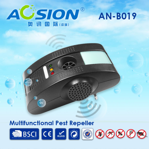 Home pest control reject Electromagnetic waves+Anion+Ultrasonic with night light mosquito mouse rats rodent siper repeller ultrasonic pest repeller electronic mouse control tool