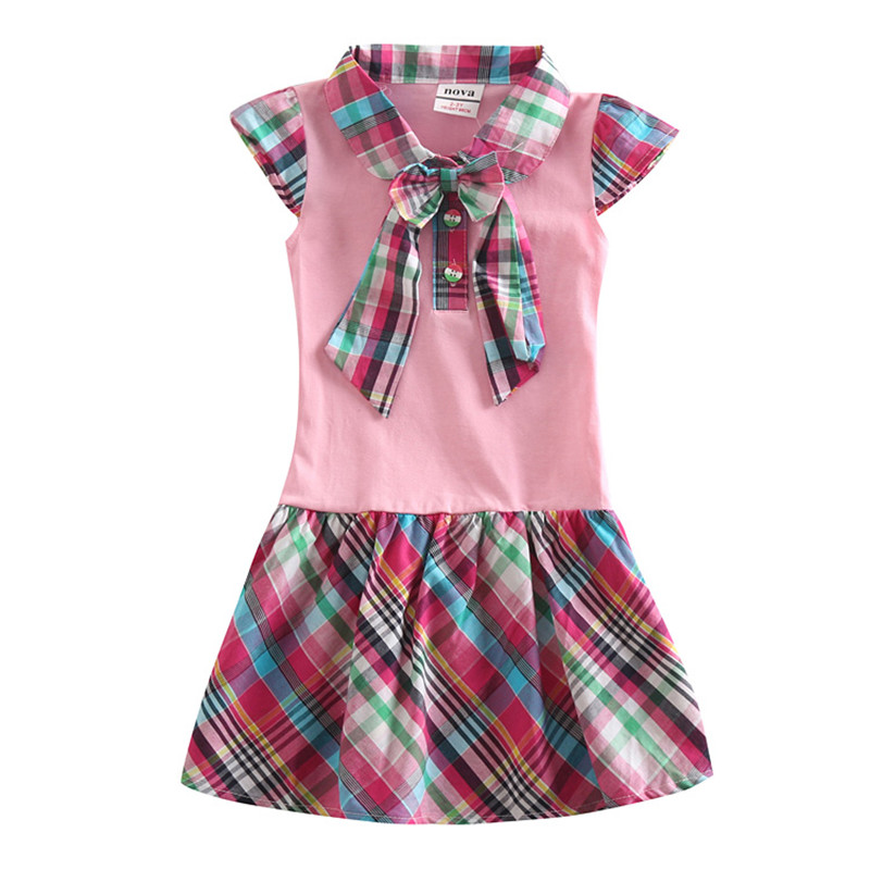 novatx H5023 retail new arrival free shipping pink kids short sleeves carton pig children girls dress baby girl clothes retail design children clothing set for kids girl dark blue cardigan t shirt pink skirt high quality 2014 new free shipping