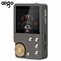 Aigo New Original MP3 Player Portable Lossless Hifi Music Player 8G With TFT Screen 24bit/192K EQ Adjustable Audio MP3 Player