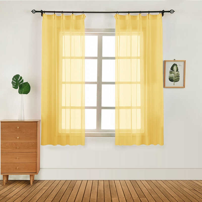 10 Style Tulle Curtains Modern Curtains for Living Room Transparent Tulle Curtains Window Drapes Sheer Curtains for Living Room