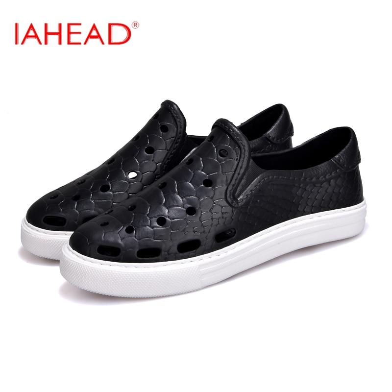 New Arrival Summer Women Sandals Plus Size 36-45 Hole Shoes Fashion Hot Sandals For Beach Couple shoes LXD597