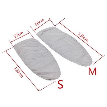Strona główna uniwersalna powlekana srebrem wyściełana pokrywa na deskę do prasowania i podkładka 4mm gruby odbijający ciężki odblaskowy odporny na przebicie 2 rozmiary tanie i dobre opinie CN (pochodzenie)