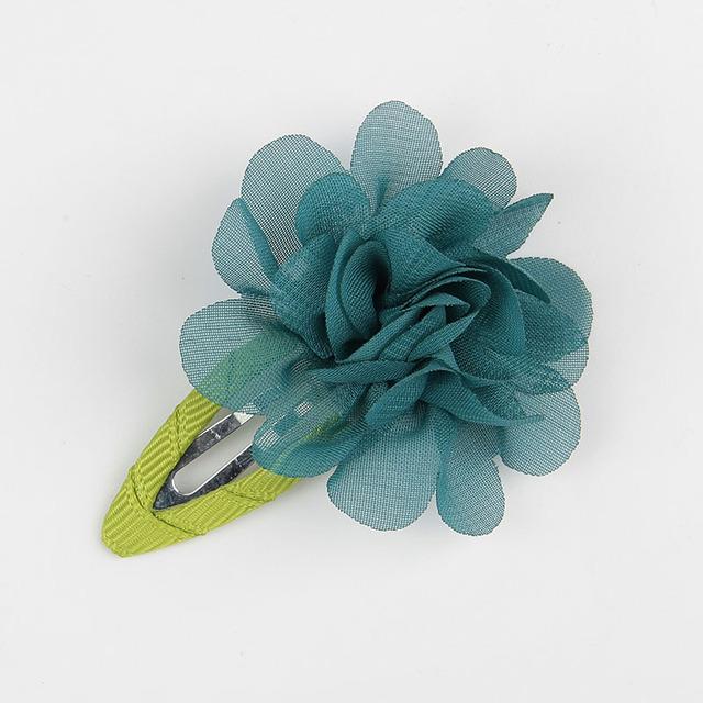 10 pcs. Floral Fashion Baby Girl Hair Clips Set