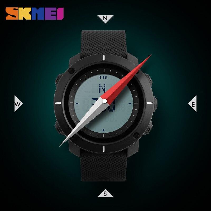 SKMEI Ανδρικά Ρολόγια Αθλητικά Ρολόγια - Ανδρικά ρολόγια - Φωτογραφία 4