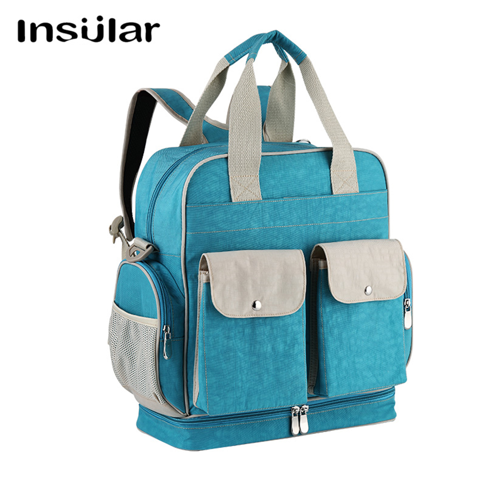 INSULAR Diaper Bag Baby Nappy Changing Bags Large Capacity Maternity Mummy Diaper Backpack Stroller Bag rubing matching motorcycle accessories ybr125 guard board blue