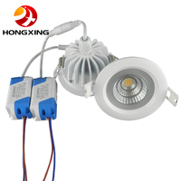 1pcs Lot New Arrival 15W Waterproof IP65 Dimmable Led Downlight Cob15W Dimming LED Spot Light