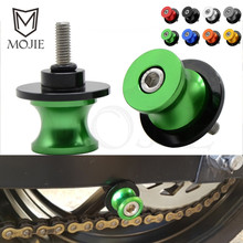10mm CNC Aluminum Motorcycle Swingarm Sliders Spools Slider Rear Stand For Kawasaki Z750 Z 750 2008-2011 2009 2010
