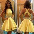 Vestidos De Fiestas Cortos 2016 New Arrivals Sexy Backless Cocktail Dresses Short Mini Homecoming Party Dress