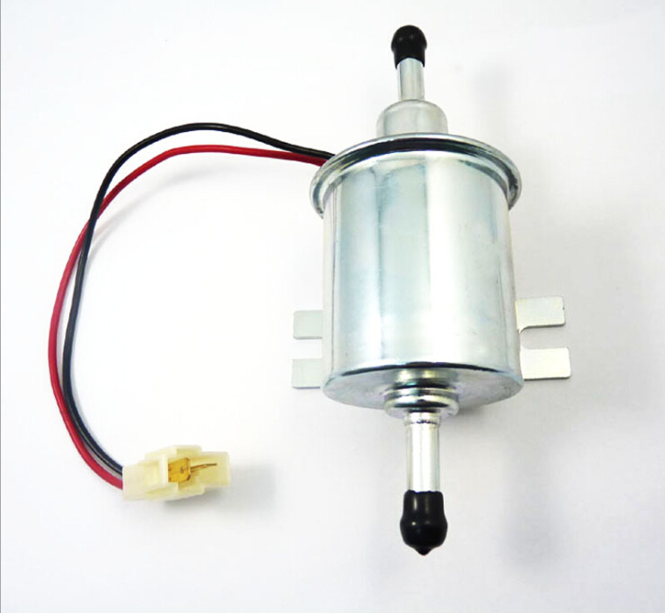 Electric Fuel Pump Low Pressure Universal Gas Diesel For Carburetor Motorcycle ATV OEM HEP02A HEP02 HEP02A low pressure electric fuel pump 24v dc diesel fuel pump made in china